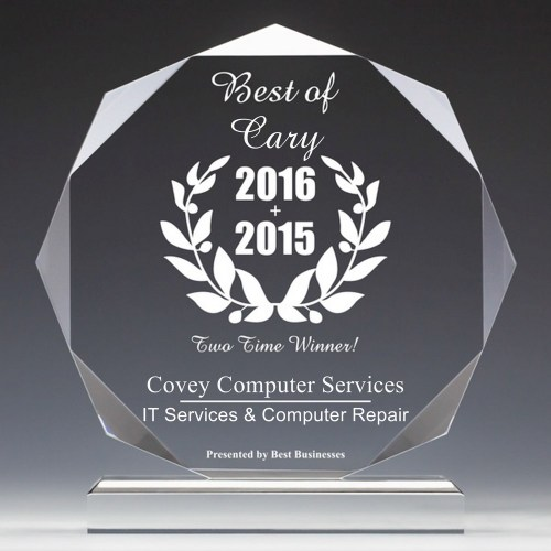 Best Business of Cary 2015 & 2016